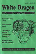 Cover view of the Beltane 2008 Issue