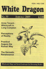 Cover view of the Imbolc 2009 Issue